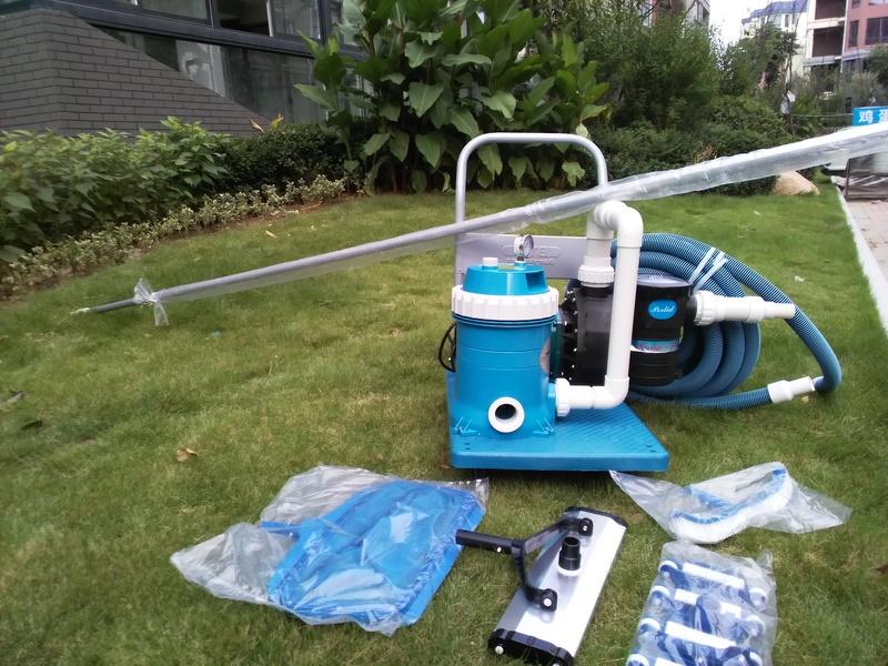 泳池手動清洗機